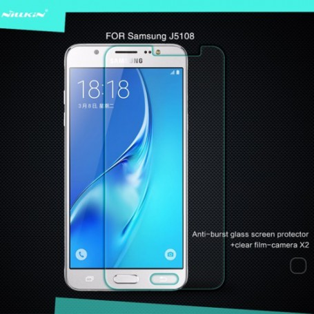Samsung Galaxy J5 2016 kirkas karkaistu lasikalvo.