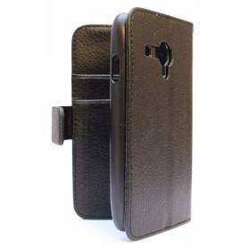 Galaxy S3 Mini musta puhelinlompakko
