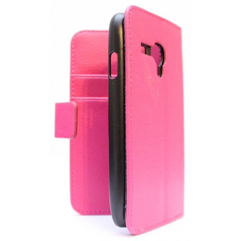 Galaxy S3 Mini hot pink puhelinlompakko