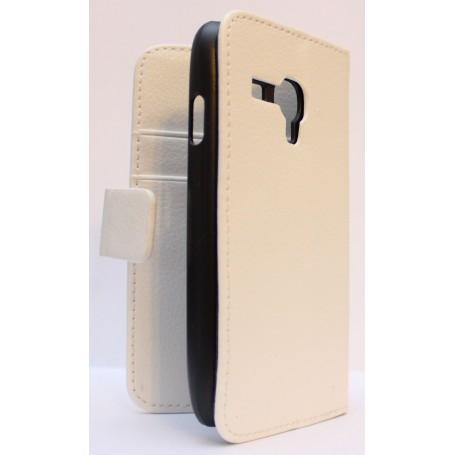 Galaxy S3 Mini valkoinen puhelinlompakko