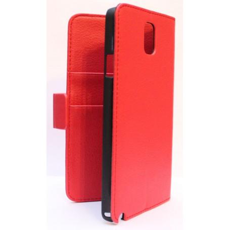 Galaxy Note 3 punainen puhelinlompakko