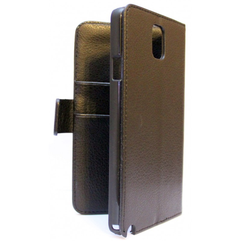 Galaxy Note 3 musta puhelinlompakko