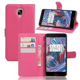 OnePlus 3 pinkki puhelinlompakko