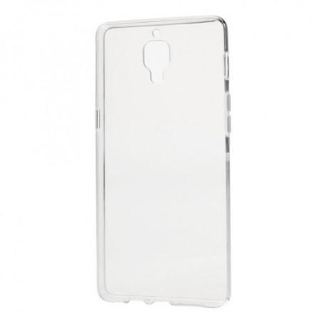 OnePlus 3 läpinäkyvä silikonisuojus.