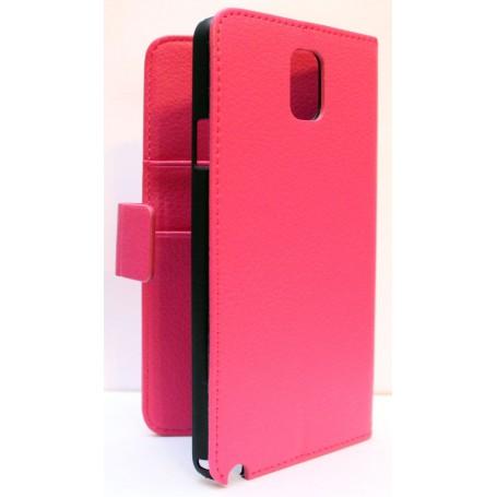 Galaxy Note 3 hot pink puhelinlompakko