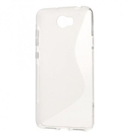 Huawei Y5 II läpinäkyvä silikonisuojus.