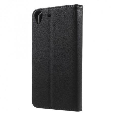 Huawei Y6 musta puhelinlompakko