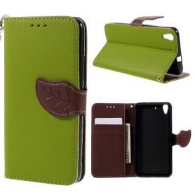 Huawei Y6 vihreä puhelinlompakko