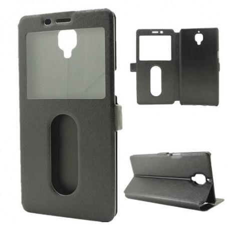 OnePlus 3 musta ikkunakotelo