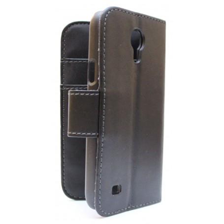 Galaxy S4 Mini musta puhelinlompakko