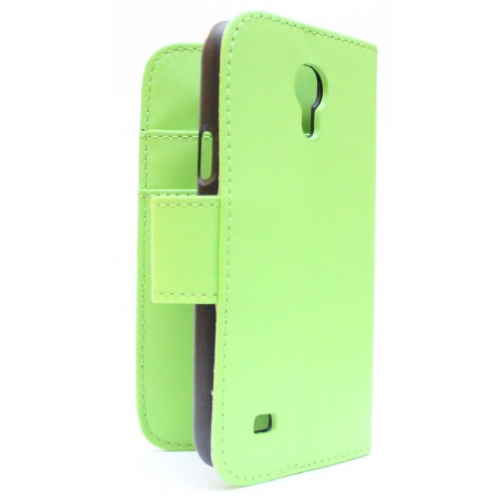 Galaxy S4 Mini vaaleanvihreä puhelinlompakko