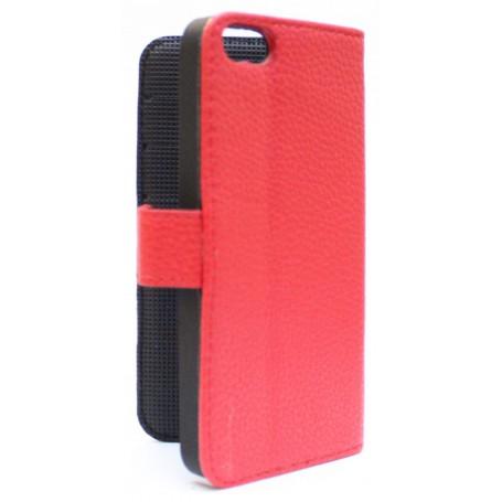 Apple iPhone 5 punainen puhelinlompakko