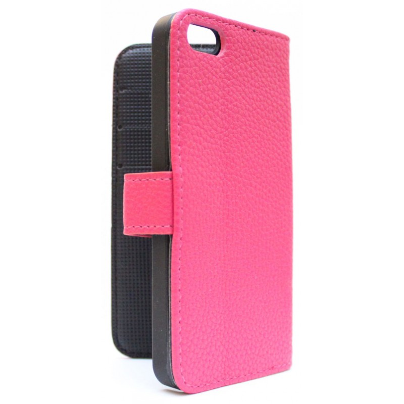 Apple iPhone 5 hot pink puhelinlompakko