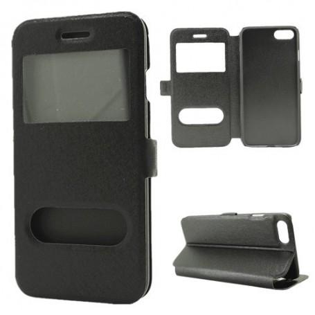 iPhone 7 musta ikkunakotelo
