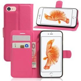 iPhone 7/8/SE 2020 pinkki puhelinlompakko