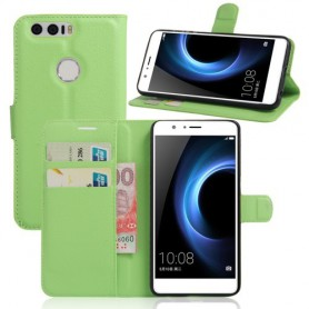 Huawei Honor 8 vihreä puhelinlompakko