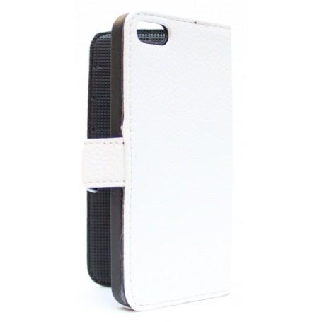Apple iPhone 5 valkoinen puhelinlompakko