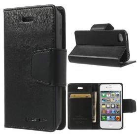 iPhone 4 musta puhelinlompakko