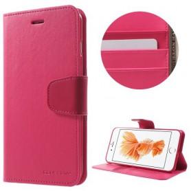 iPhone 7 plus pinkki puhelinlompakko