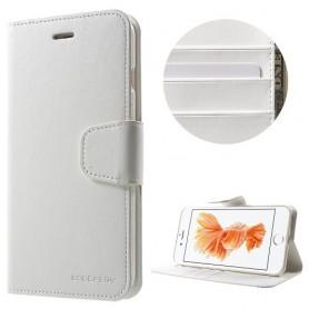 iPhone 7 plus valkoinen puhelinlompakko