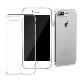 iPhone 7 plus ultra ohuet läpinäkyvät kuoret.