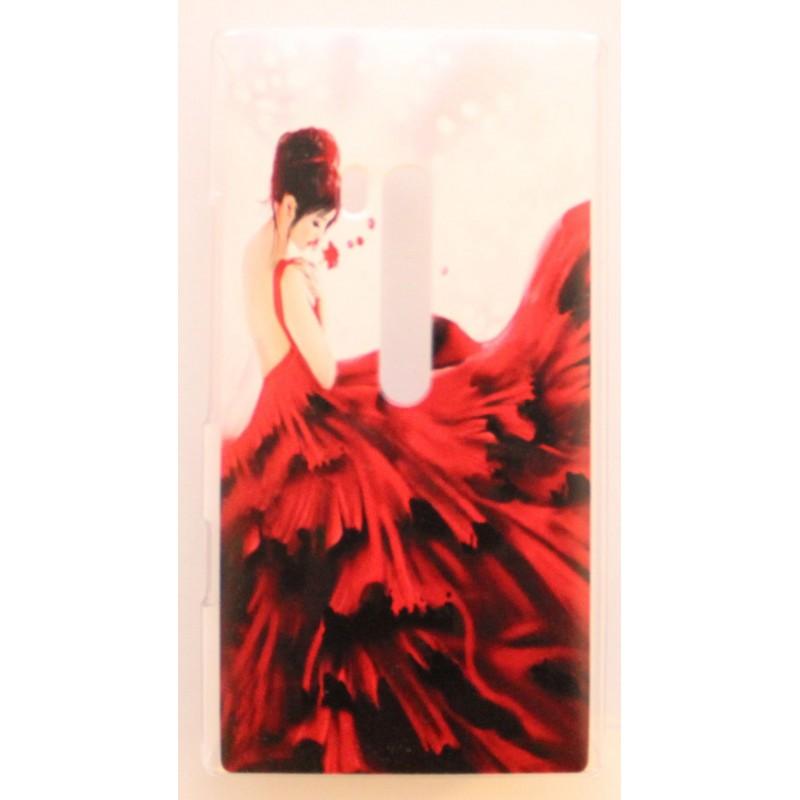 Lumia 900 punainen mekko kuoret