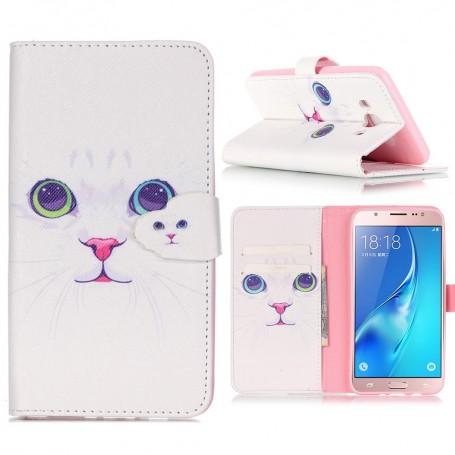 Samsung Galaxy J5 2016 kissa puhelinlompakko