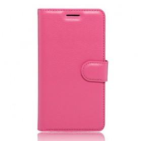Huawei P9 Lite pinkki puhelinlompakko