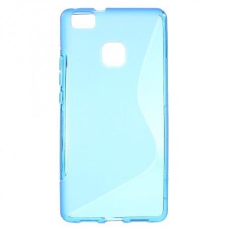 Huawei P9 Lite sininen silikonisuojus.