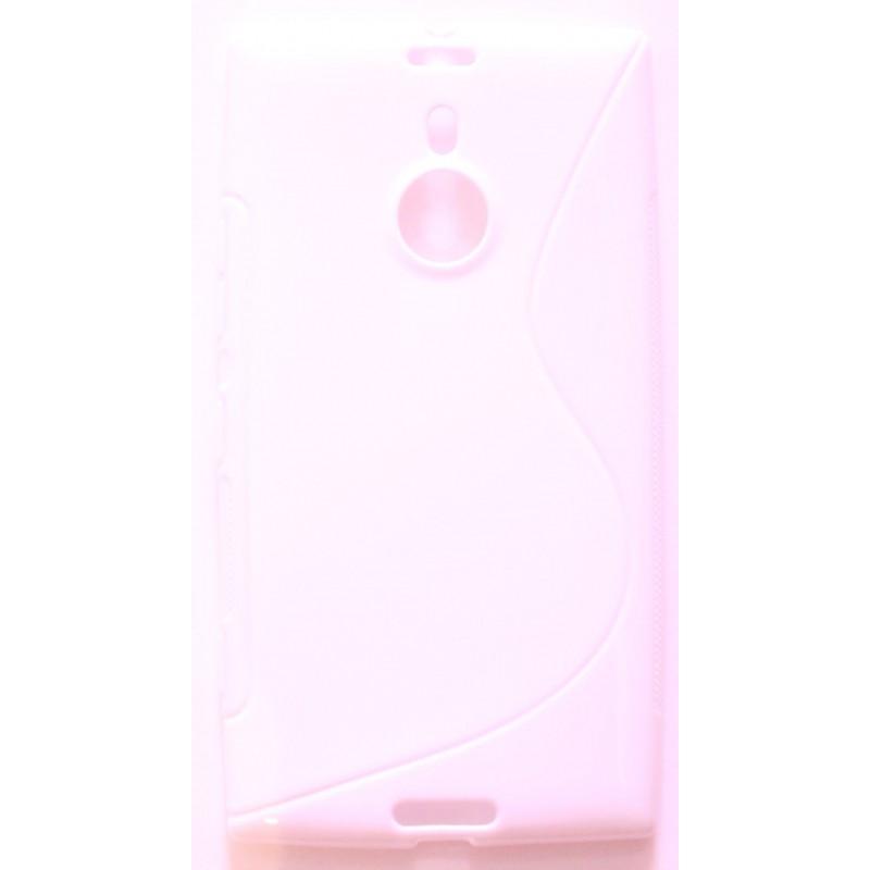 Lumia 1520 valkoinen silikonisuojus.