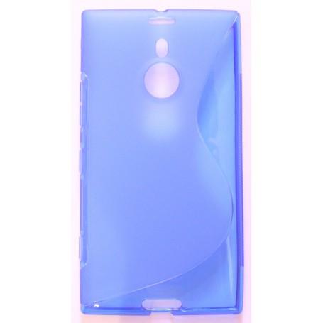 Lumia 1520 sininen silikonisuojus.