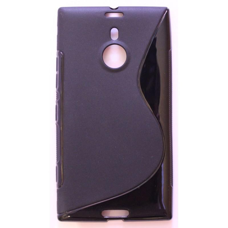Lumia 1520 musta silikonisuojus.