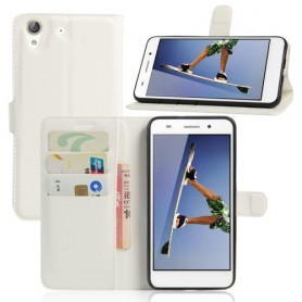 Huawei Y6 II valkoinen puhelinlompakko
