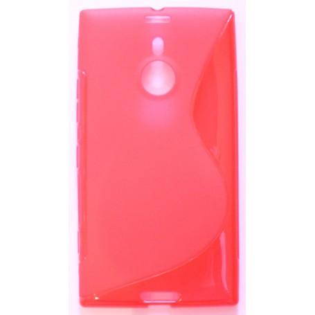 Lumia 1520 punainen silikonisuojus.