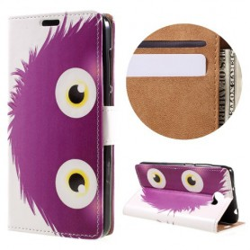 Huawei Y6 II Compact violetti otus puhelinlompakko