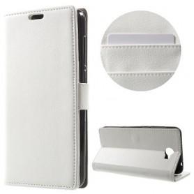 Huawei Y6 II Compact valkoinen puhelinlompakko