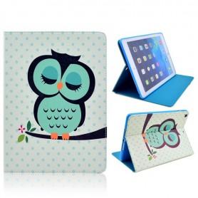 Apple iPad Mini 2 vihreä pöllö kansikotelo