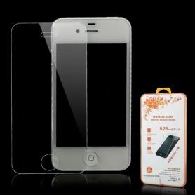 Apple iPhone 4 kirkas karkaistu lasikalvo.