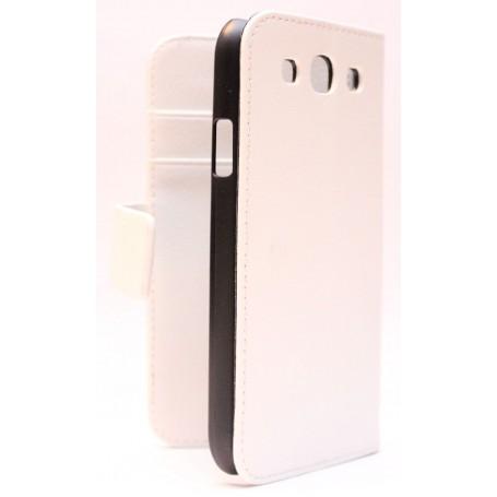Galaxy S3 valkoinen lompakkokotelo