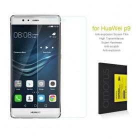 Huawei P9 kirkas karkaistu lasikalvo.