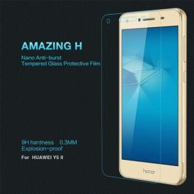 Huawei Y5 II kirkas karkaistu lasikalvo.