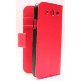 Galaxy S3 punainen lompakkokotelo