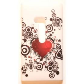 Lumia 900 sydän kuoret