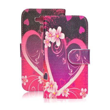 Huawei Honor 7 Lite sydän puhelinlompakko