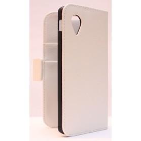 LG Google Nexus 5 valkoinen puhelinlompakko