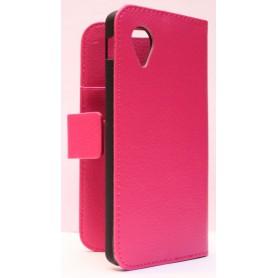 LG Google Nexus 5 hot pink puhelinlompakko