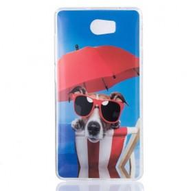 Huawei Y5 II koira silikonisuojus.
