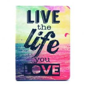 Apple iPad Mini 4 live life kansikotelo