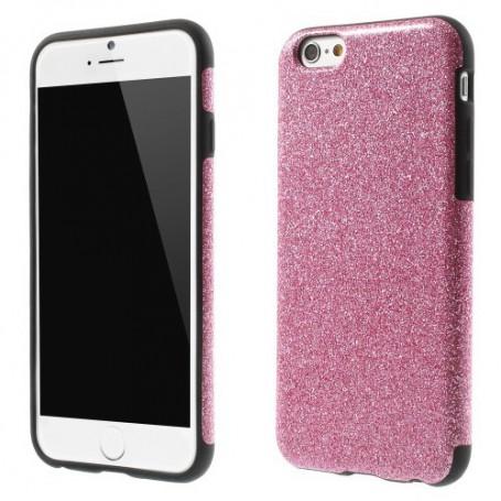 Apple iPhone 6 pinkki glitter kuoret.