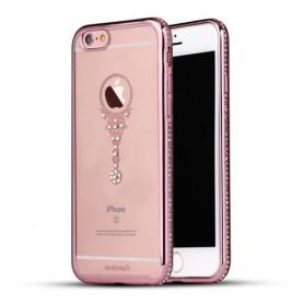 Apple iPhone 6 ruusukulta riipus kuoret.